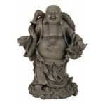 Buddha Standing with Grey Dragon 8498-1 Pcs