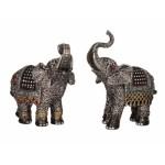 Elephant with diamante 6330-2 pcs