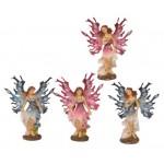 Fairy - Elf Pink Blue 13-14cm 5480 - 4 Pcs