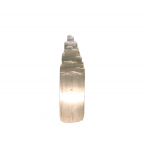 Selenite Mountain Lamp 35cm