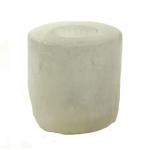 Selenite Tealight Holder Cylinder 9 X 8 cm