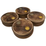 Ash Catcher Plate 4in Antique ASH006-12 Pcs