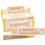 Sandalwood Incense (12pk) Stamford Masala