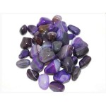 Agate Purple Banded T/Stone 20-30mm (500g)