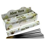 Aloe Vera Incense Hex (6 TBS) Stamford