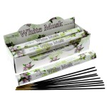 White Musk Incense Hex (6 TBS) Stamford
