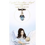 Crystal Angel Charm Baby Boy