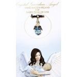 Crystal Angel Charm Baby Boy