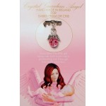 Crystal Angel Charm Baby Girl