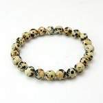 Dalmation Jasper Ball Bracelet 52mm
