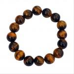 Tiger Eye Ball Bracelet