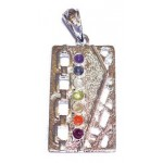 Chakra Silver Plated Pendant
