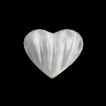 Selenite Sculpted Heart