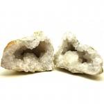 Geodes White Quartz Size 6