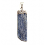 Kyanite-Blue Silver Capped Pendant
