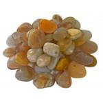 Agate Yellow Tumbled Stone 20-30mm (500g)