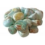Calcite Carribean Blue Tumbled Stone 20-30mm ( 250gm )