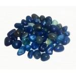 Onyx Blue Tumbled Stone 20-30mm (500g)