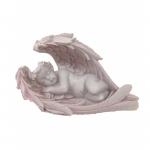 Pretty in Pink Angel Sleeping in Wings (1 Pc) PAPV06