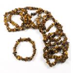 Tigereye 53mm Chip Bracelet